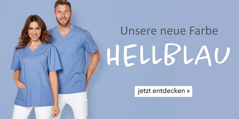 Berufsbekleidung - Teamfarbe Hellblau von 7days
