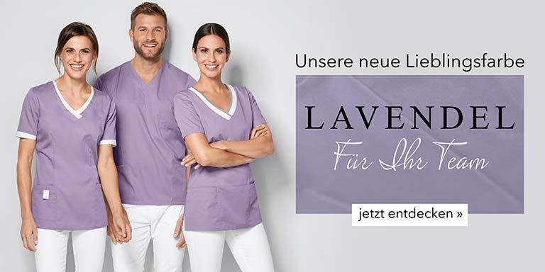 Berufsbekleidung - Teamfarbe Lavendel von 7days