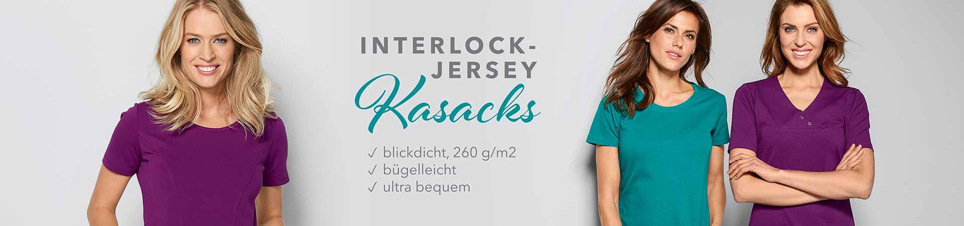 Interlock-Jersey Kasacks