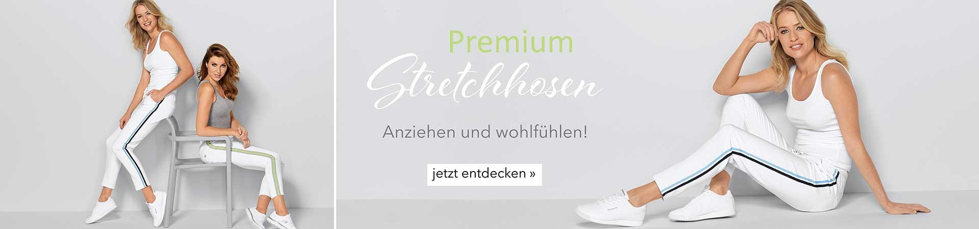 Damen Premium - Stretchhosen