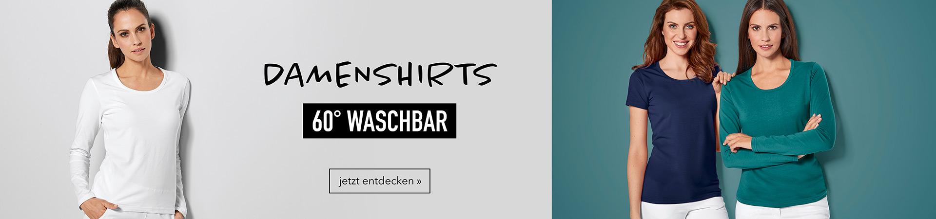 Damenshirts - 60° waschbar