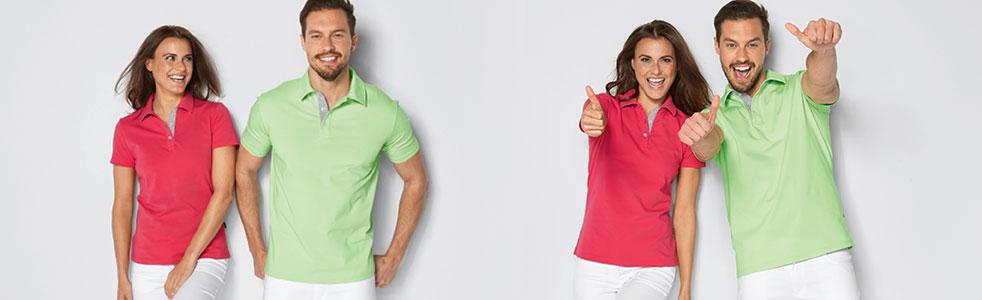 Single Jersey Poloshirts