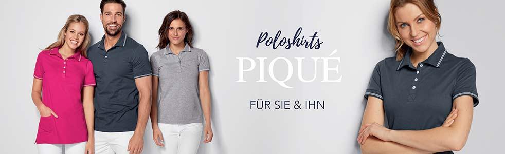 Piqué Poloshirts