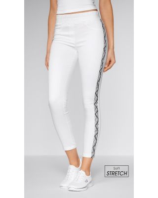 Soft-Stretchhose, Snakeprint